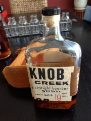 Knob Creek Straight... *gasp!* ...naked!