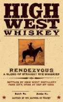 The Pinnacle of 2013: High West Rendezvous Rye