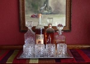 Ah, bottles in a row...