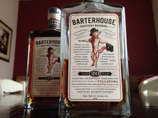 Booze of the Year for 2014:  Barterhouse