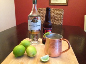 The Moscow Mule, starring Green Mark Vodka