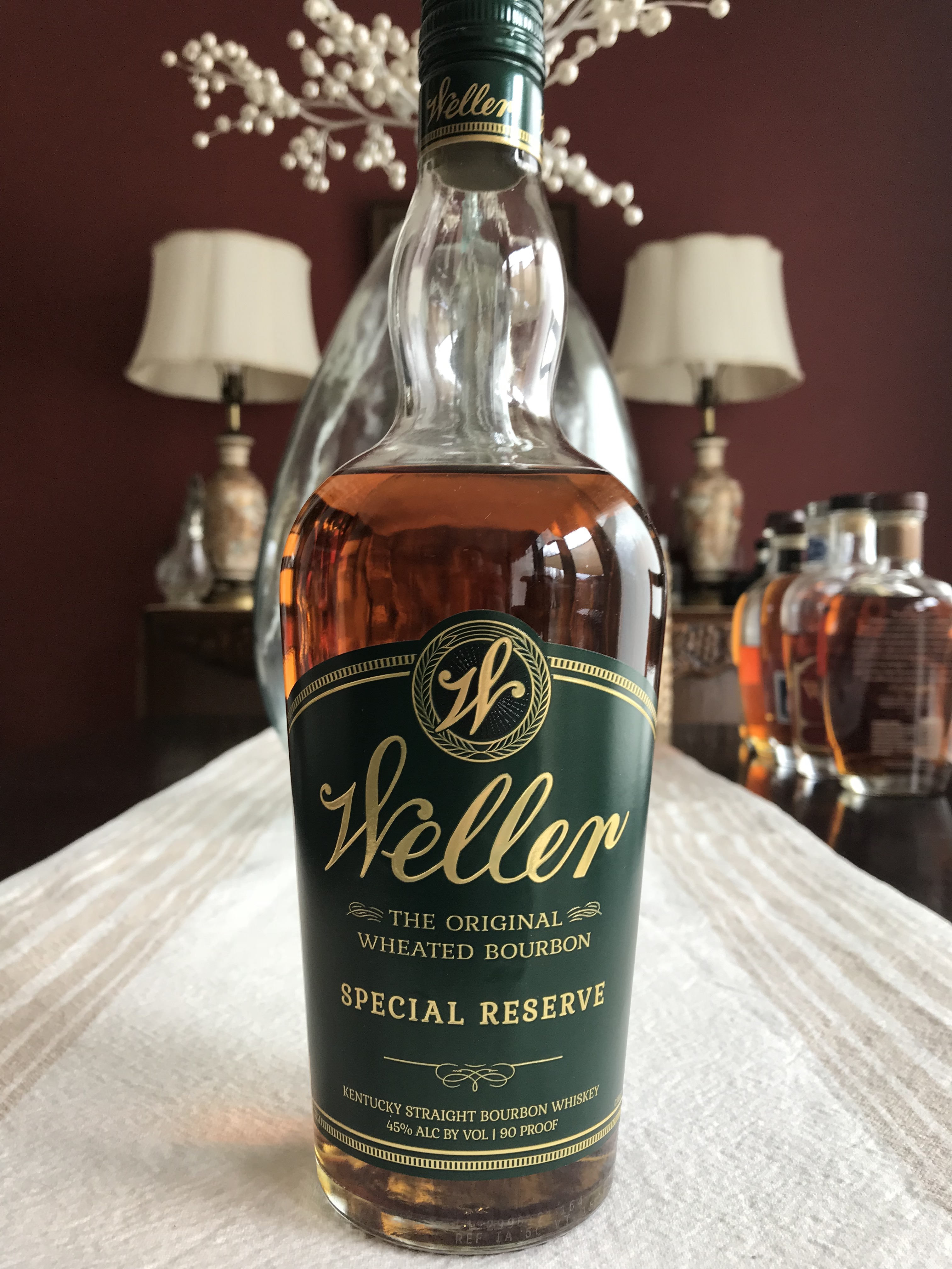 Weller Special Reserve Wheated Bourbon The Review Booze